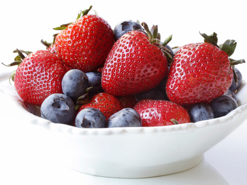 strawberries-blueberries