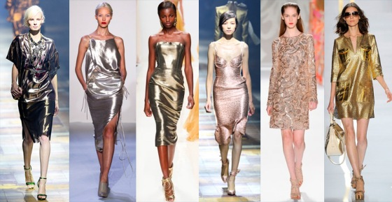 Metallic-Dresses-Trends-Spring-Summer-2014