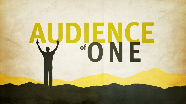 audience-of-one